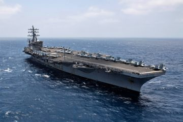 Video: Aircraft Carrier & Cruiser Spent 161 Days at Sea Non-Stop, Breaking U.S. Navy Record