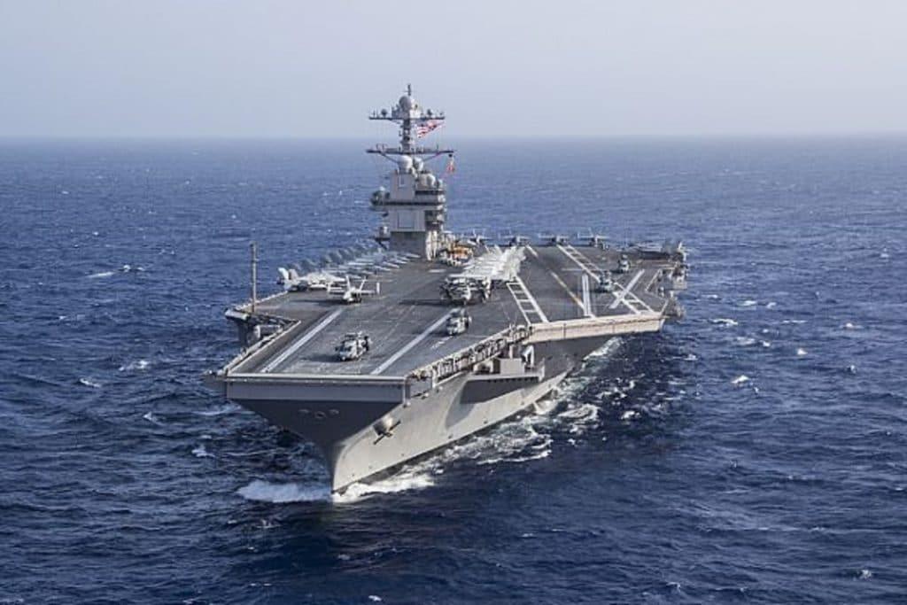 Ford-class aircraft carrier USS Gerald R. Ford (CVN 78)