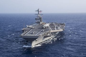 U.S. Navy Aircraft Carrier USS Gerald R. Ford Completes Critical Milestones