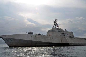 USS Kansas City (LCS 22) joins US Navy's fleet