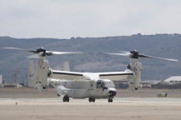 Video: First Operational CMV-22B Osprey delivered to the U.S. Navy