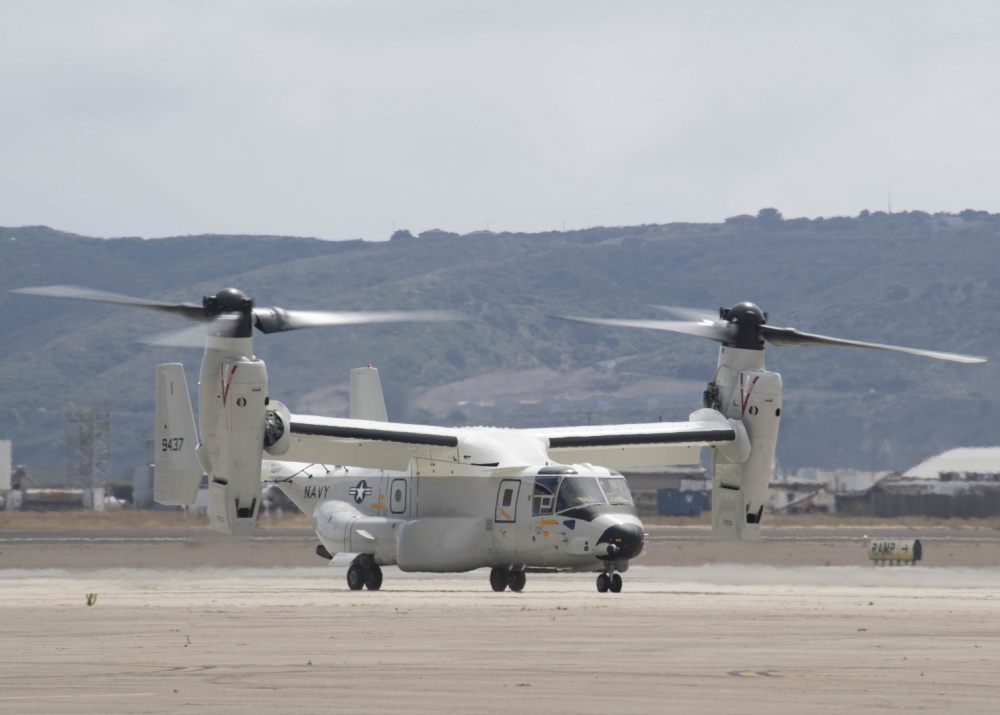 Video First Operational CMV-22B Osprey delivered to the U.S. Navy
