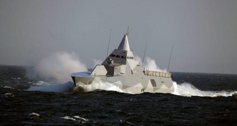 Visby class corvette