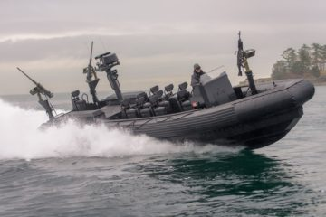 Zodiac Hurricane Wins Royal Canadian Navy Contract Award for 30 New Multi Role RHIBs