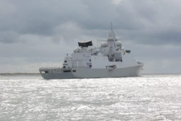 Royal Netherlands Navy's frigate 'Zr.Ms. De Zeven Provinciën' is back at sea
