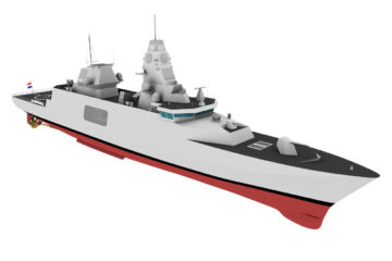 Dutch MoD clears path for the M-frigates replacement, expects delays