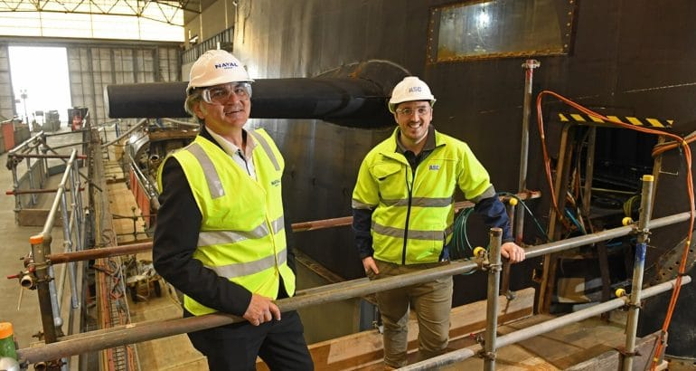 ASC partners with Naval Group Australia to train submarine engineers of the future