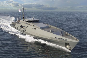 Austal laid keel of Australia's first of six Cape Class Patrol Boats