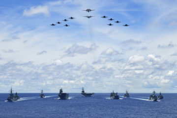 Australia, Japan, join U.S. for trilateral naval exercise