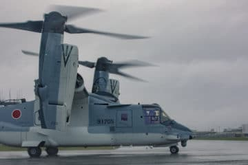 First V-22 Osprey delivered to Japan Ground Self-Defense Force