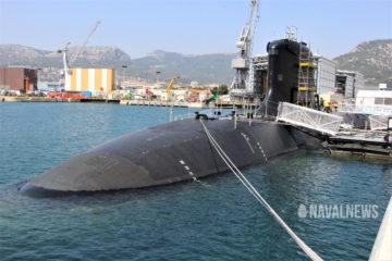 French Navy's New SSN 'Suffren' in Toulon to Begin Weapons Systems Tests