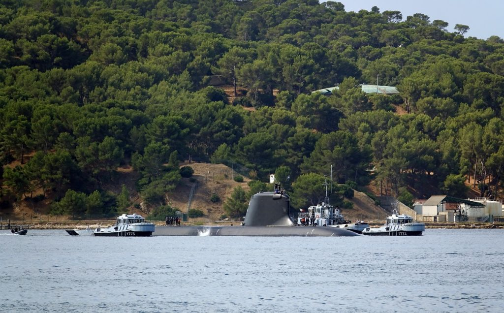 Suffren pulling into Toulon Naval Base on 28 July 2020. Picture by Francis Jacquot.