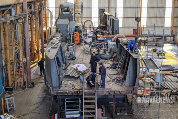 French Navy's Next Generation Landing Craft Taking Shape
