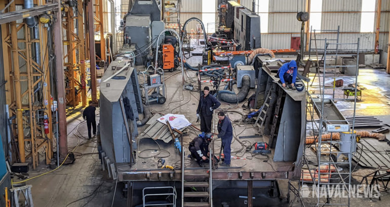 French Navy's Next Generation Landing Craft Taking Shape EDA-S CNIM 1