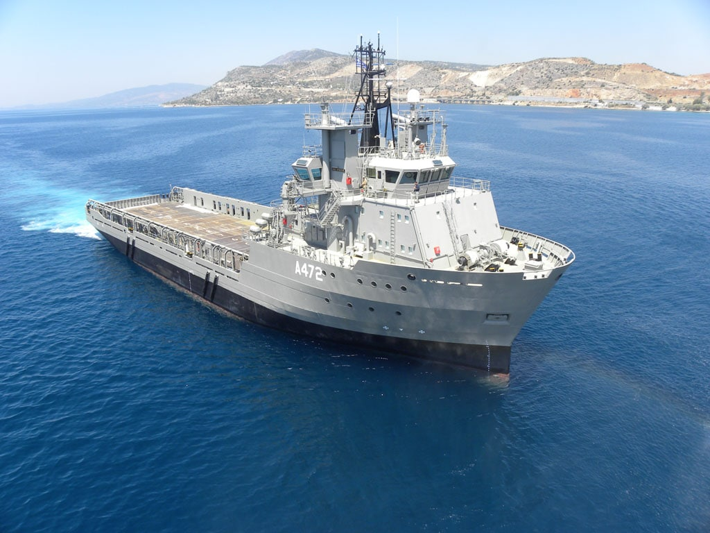 Hellenic Navy Commissioned New General Support Ship HS Iraklis