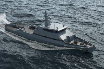 Israel Shipyards Announces Launch Customer for its OPV 45 Design