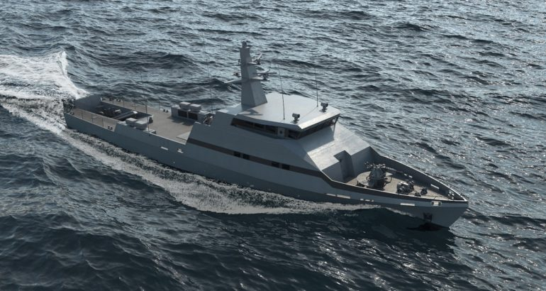 OPV-45 by Israel Shipyards