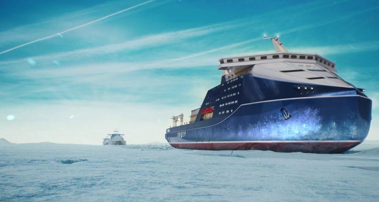 Leader Nuclear-Powered Icebreaker