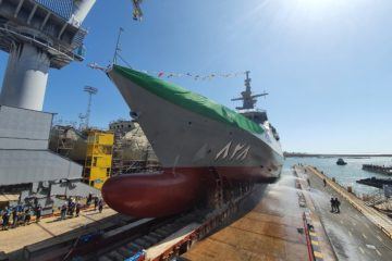 Navantia launches the first Avante 2200 Corvette for Saudi Arabia – Al Jubail