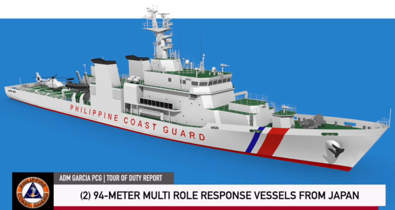 Philippine Coast Guard MRRV Japan