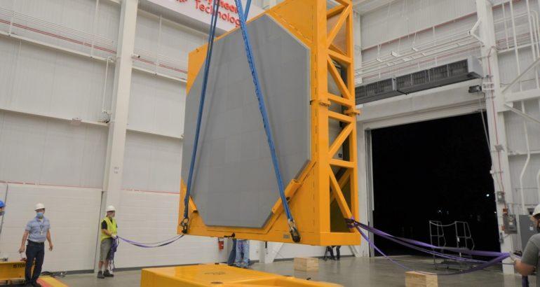 the first AN/SPY-6(V)1 radar array