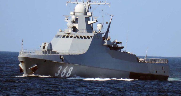 "Project 22160 Patrol Vessel ""Vasily Bikov"""