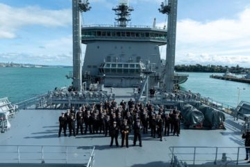 Royal New Zealand Navy commissions HMNZS Aotearoa Polar-class support vessel