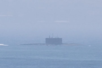 The Royal Navy Are Escorting A Russian Submarine In English Channel
