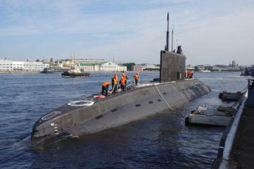 Russia's Pacific Fleet to Field Six Project 636.3 submarines by 2024