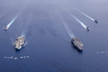 U.S. Navy Carrier Strike Force Demonstrate Unmatched Commitment to Free and Open Indo-Pacific