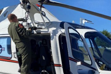 US Navy instructor pilots start training on TH-73A helicopter