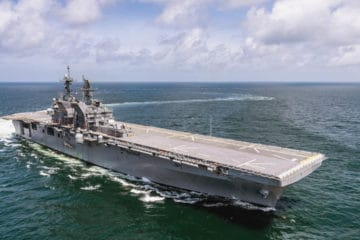 US Navy's 2nd America-class amphibious assault ship joins the fleet