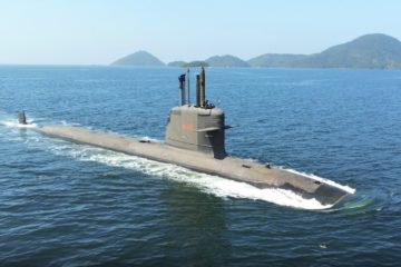 Brazilian Navy's Riachuelo submarine completes surface and propulsion tests