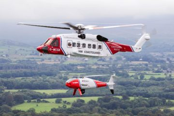 British Coast Guard to Trial CAMCOPTER VTOL UAV for Unmanned SAR missions