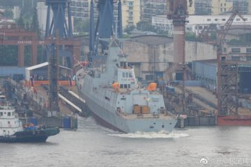Chinese Shipyard Launches 1st Type 054 A/P Frigate for Pakistan Navy