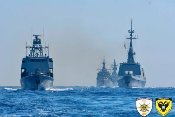 Eunomia: Cyprus Greece France and Italy Conducting Combined Drills in Eastern Med