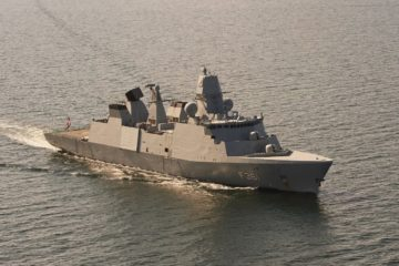 Danish Navy Frigate Iver Huitfeldt Joins Operation Agenor