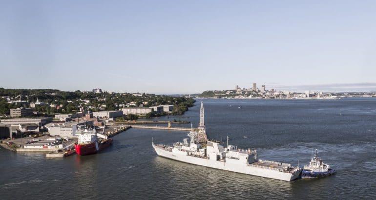 Davie Shipyard Begins Halifax-class Frigate Mid-Life Refit Program