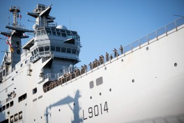 European Navies Providing Disaster Relief to Beirut