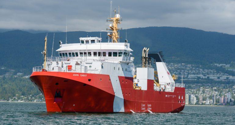 Canadian Coast Guard vessel CCGS John Cabot