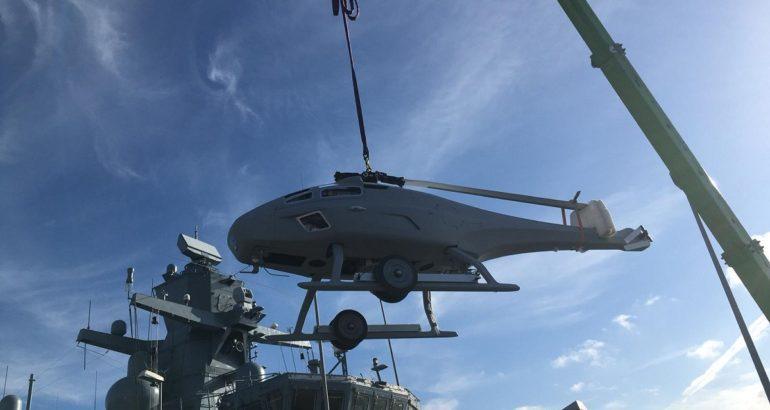 German Navy Starts At-Sea Tests of SKELDAR V-200 VTOL UAV Aboard K130 Corvette