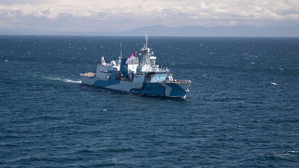 Halifax-class-Frigate-HMCS-Regina