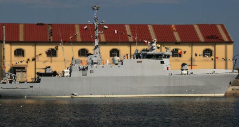 Italian Shipyard Intermarine Delivers 2nd El Kasseh-class MCM Vessel to Algeria