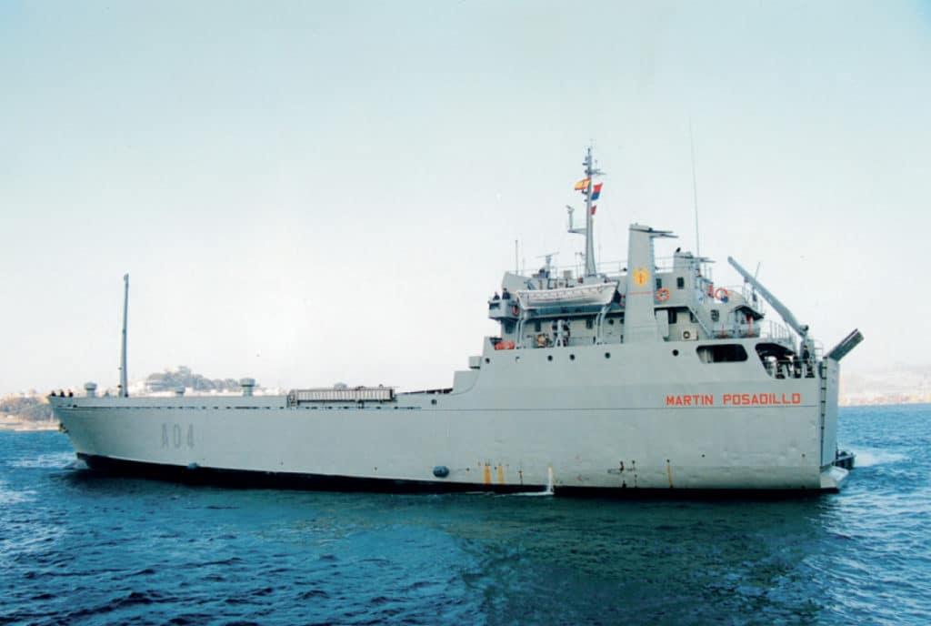 Martín Posadillo (A-04) Spain Spanish Navy