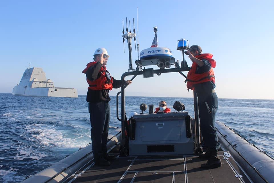 USS Michael Monsoor's 11m RHIB
