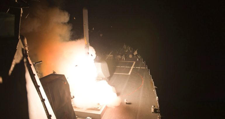 Nuke Sea-Launched Cruise Missile Would Bolster Deterrence, U.S. Officials Say