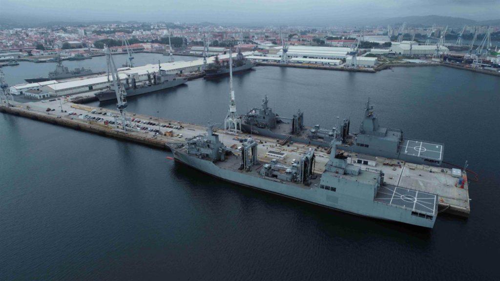 Patino Cantabria Spanish Navy Supply Stalwart Australian Navy