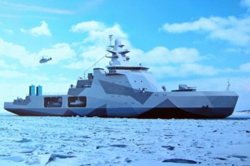 Russia's New Multirole Arctic Patrol Ships to Feature Cruise Missiles