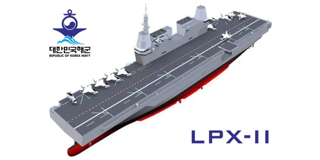 ROK Navy LPX-II aircraft carrier
