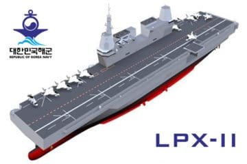 ROK Navy's LPX-II Will Be an F-35B Light Aircraft Carrier – Not an LHD
